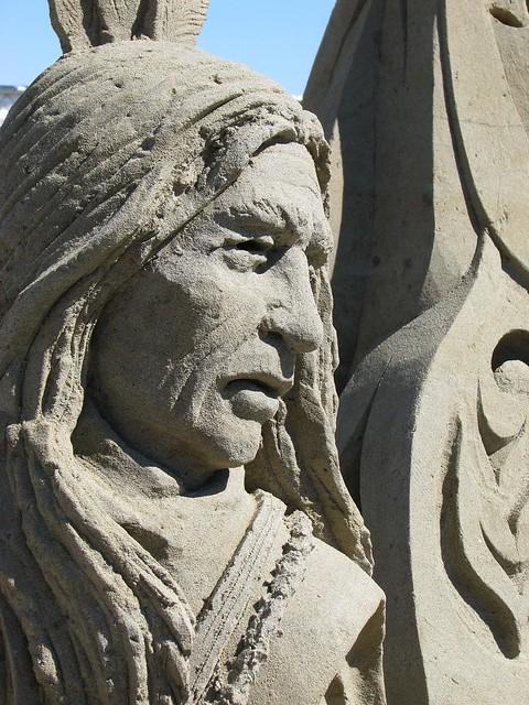 Sand sculpture Parksville