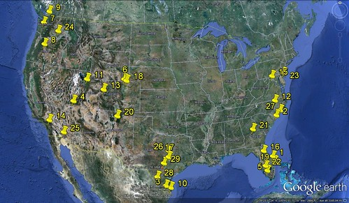 the 29 metro regions where sprawl still rules (via Google Earth)