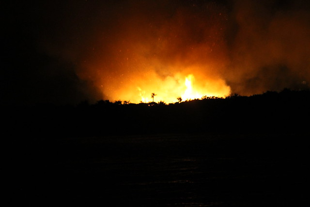 Compass Cay Fire