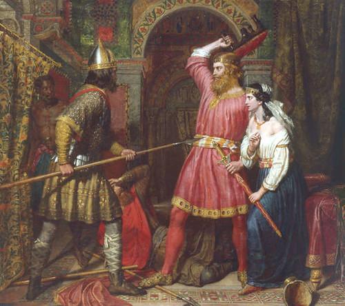 Ermordung des Alboin (Bild: wiki)