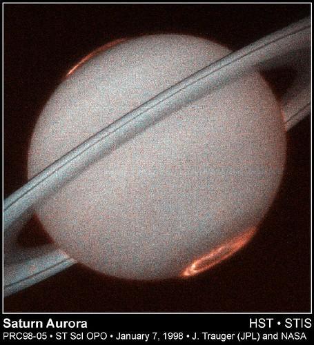 Aurore su Saturno