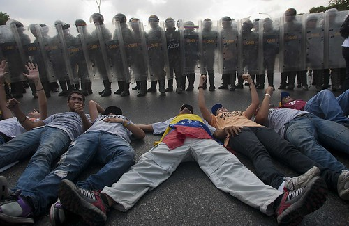 VENEZUELA-ELECTION-CAPRILES-SUPPORTERS