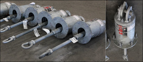 C-Type Variable Spring Support Assemblies Designed for an Oil Sands Mine