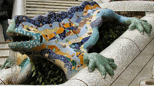 parc guell2  spain 2003