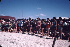 New Years day carnival at Port Parham, South Australia late 1950s
