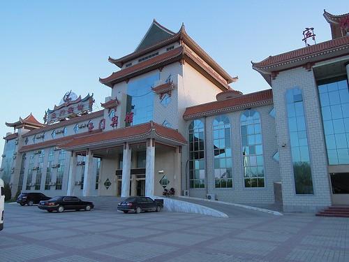 玉門のホテル