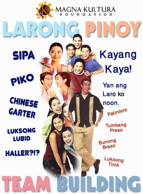 Larong Pinoy Team Building for Employees