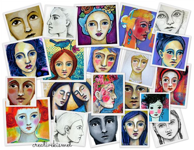 my many faces by Regina Lord