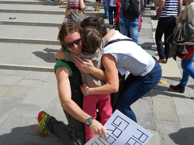 Free Hugs - Abbracci Gratis - Venezia