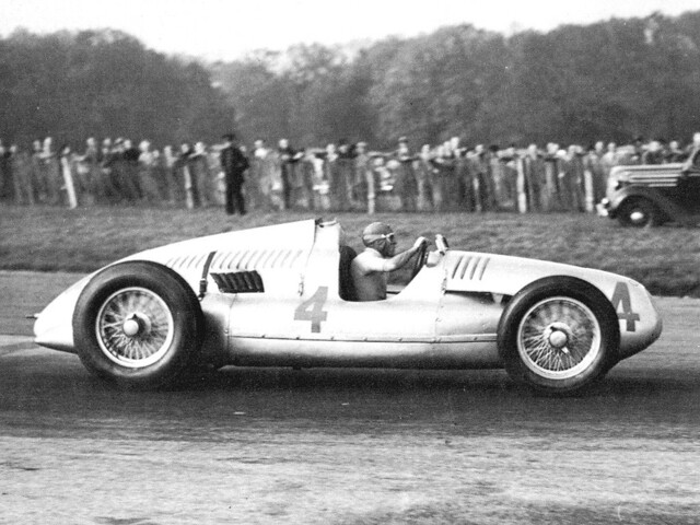 1938 Auto Union Type D - 1938 Donington GP - Tazio Nuvolari