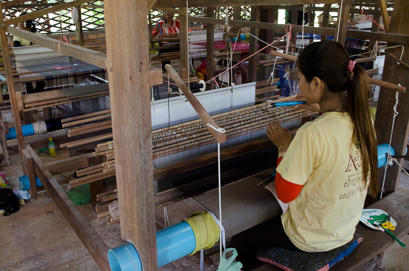 Artists Angkor Silk Farm - Silk Weaving
