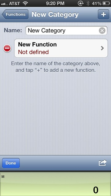 Renaming a new function category