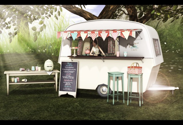 {what next} Garden Cafe Caravan for The Garden