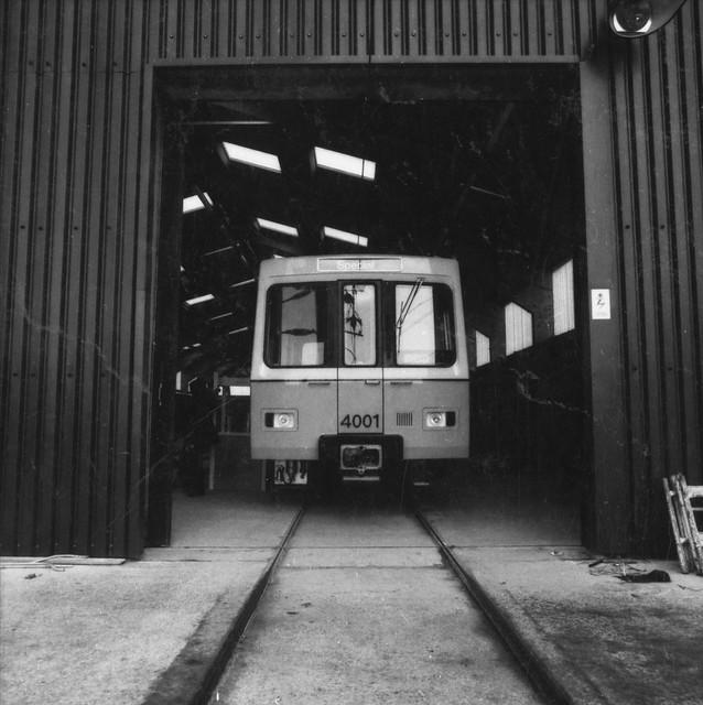 Prototype Metro Cars - Birmingham Factory