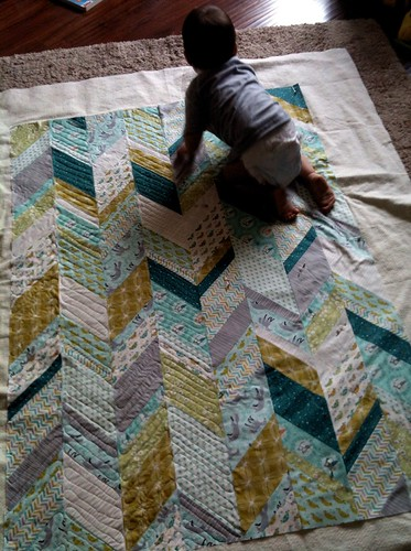 Scout Quilt with Les Amis