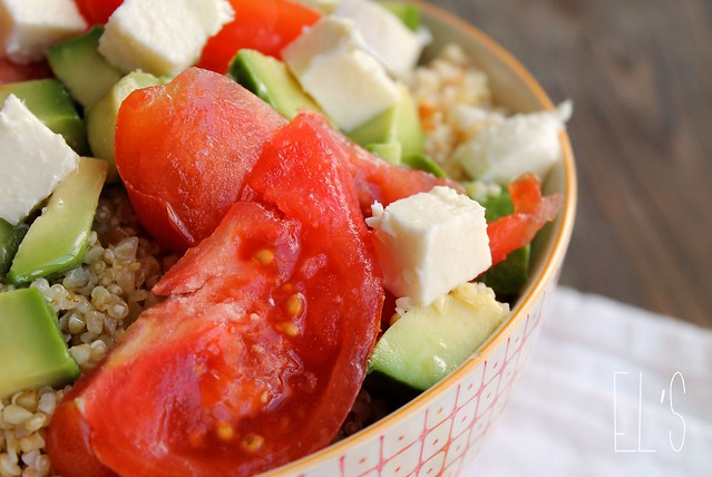 Salade de céréales mélangées