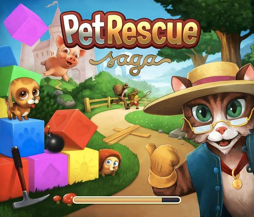 Pet Rescue Saga (Loading Screen)