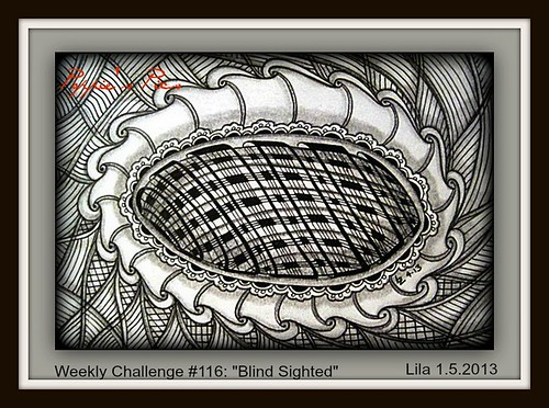 Weekly Challenge #116  Blind Sighted by Poppie_60