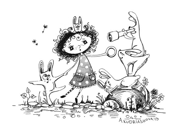 From my book: Sasha's fairytales