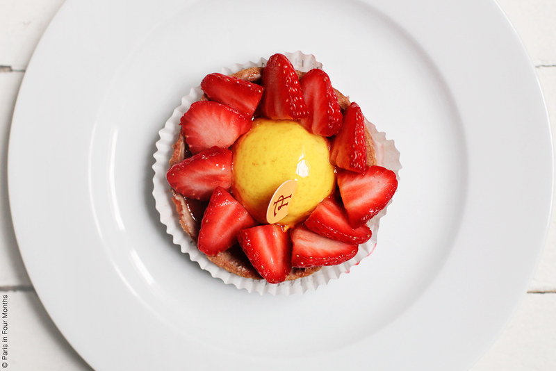 Pierre Hermé Strawberry Tart