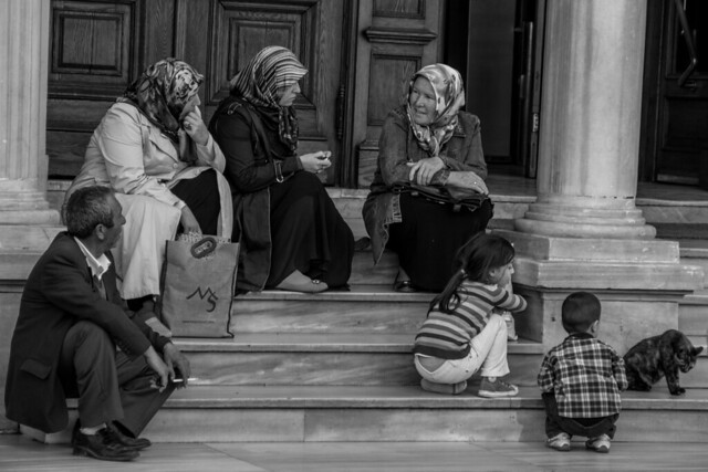 Turkish Family Relaxing - Istanbul