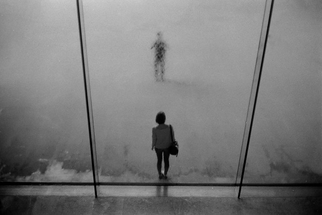Waterwall - Minimalism in Street Photography