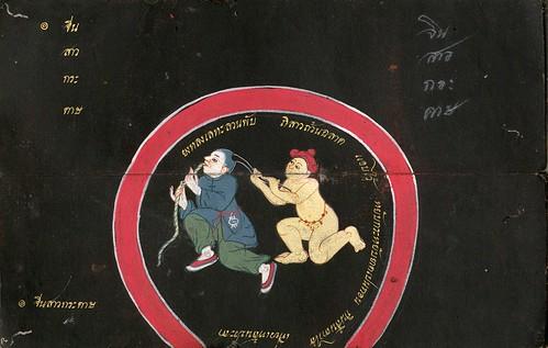003-Libro de poesía Tailandesa- Segunda Mitad siglo XIX- Biblioteca Estatal de Baviera