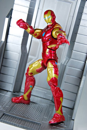 Bleeding Edge Armor Iron Man