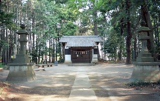 Shrine in the woods