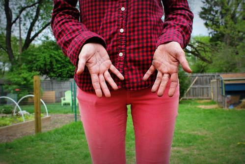 20130504. Garden hands.