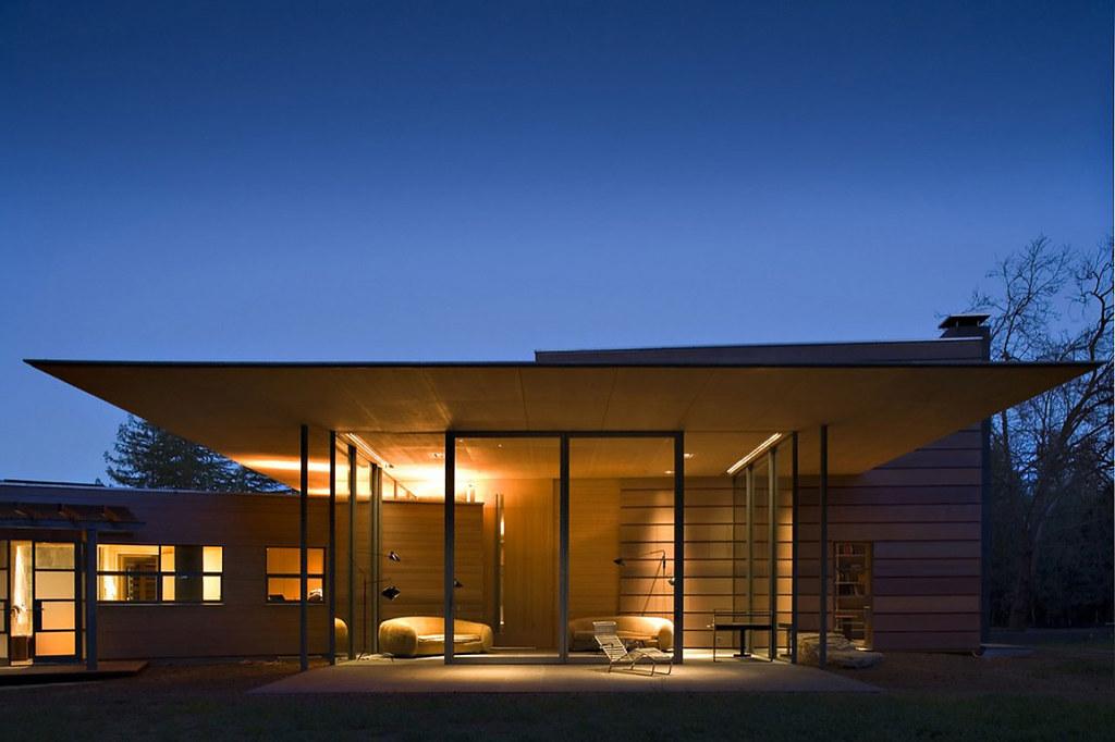 Creekside Residence design by Bohlin Cywinski Jackson