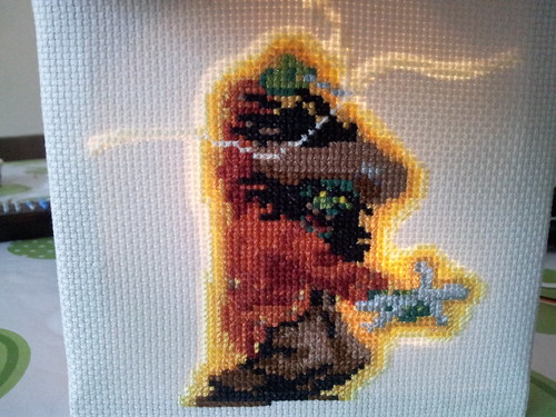 Test light up of LeChuck's aura and lightening