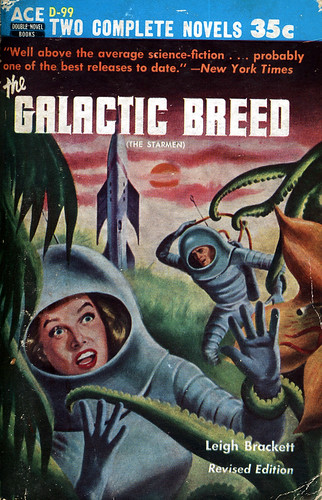 Ed Valigursky The Galactic Breed by Leigh Brackett