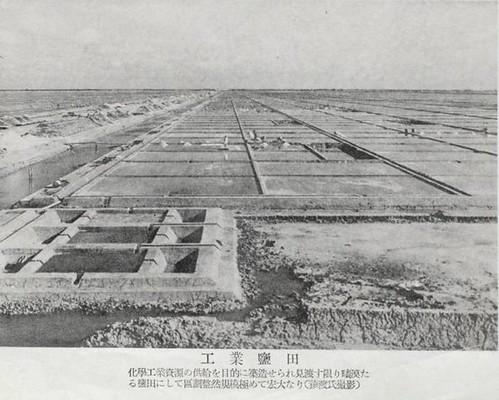 日治時期的工業鹽田。   照片提供:布袋嘴文化協會