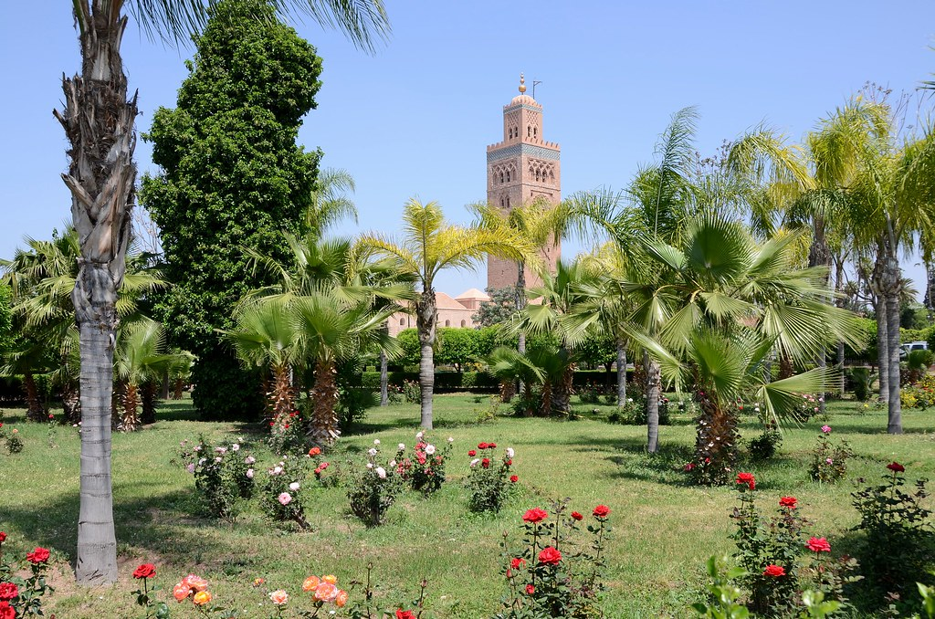 Urban parks and gardens of morocco skyscrapercity for Jardin koutoubia