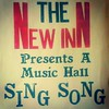 The New Inn Presents A Music Hall Sing Song. Poster at a #pub in the #Ironbridge Gorge #Museum #heritage #history #industry #industrial #new #inn #musichall #poster #typography #type #red #pub #instabeer #CAMRA #advertising #Victorian #England #shropshire