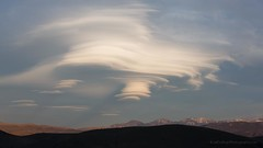 Lenticular Cloud over Three Sisters