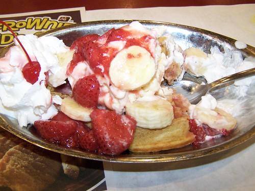 waffle ice cream at Kings by Emilyannamarie