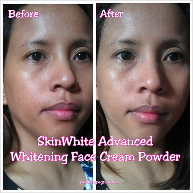 SkinWhite Advanced Whitening Face Cream Powder