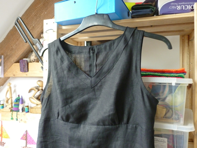 Dress bodice detail