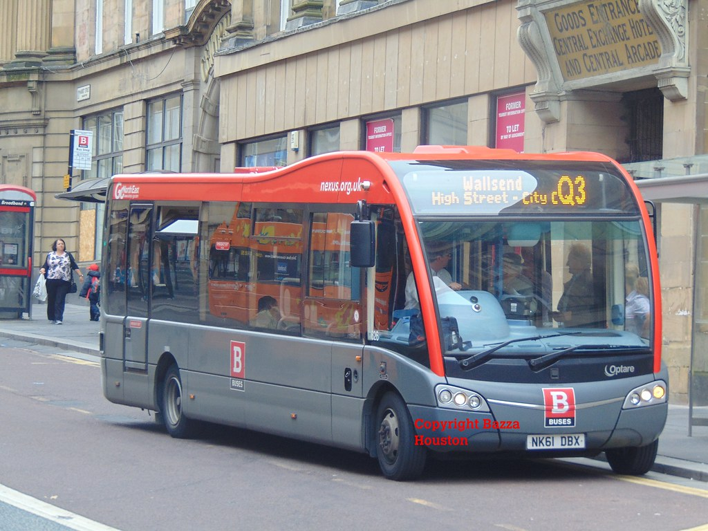 626 go north east optare solo sr on nexus bus on quaylink service q3