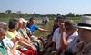 Auf dem Weg zur Besichtigung des aus 60 Pferden, vor allem Lipizzaner, bestehenden Gestüts. Die Lipizzaner waren auch in den Bauernwirtschaften der Billeder sehr beliebt.