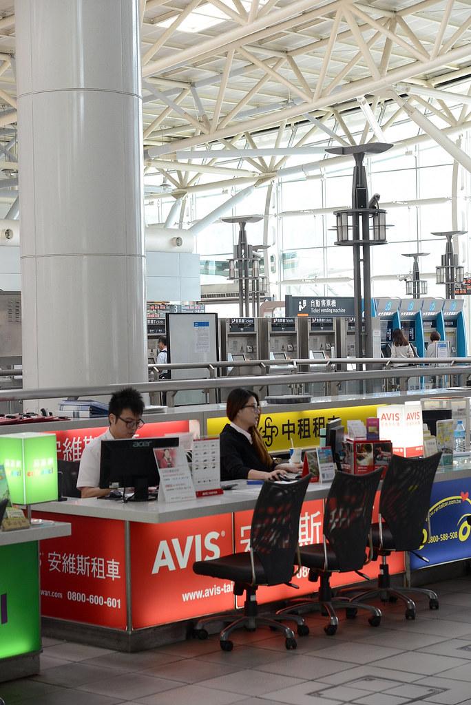 高雄左營高鐵站AVIS租車服務