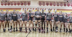 Tuesday night. The Volleyball team plays Harvard-Westlake at home. Varsity at 6pm. Be there. #volleyball