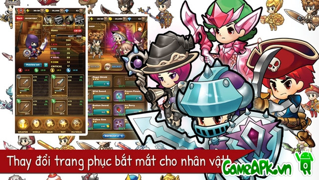 Puzzle Guardians v1.0.7 hack full cho Android