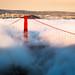 Sunset fog by davidyuweb