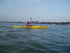 Sea Kayaking, Poole Harbour (03-Jan-09) Image