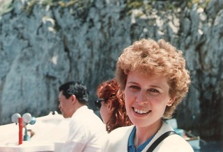 Therese on the Isle of Capri