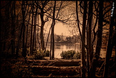 Across The Gnoll Lake Vintage