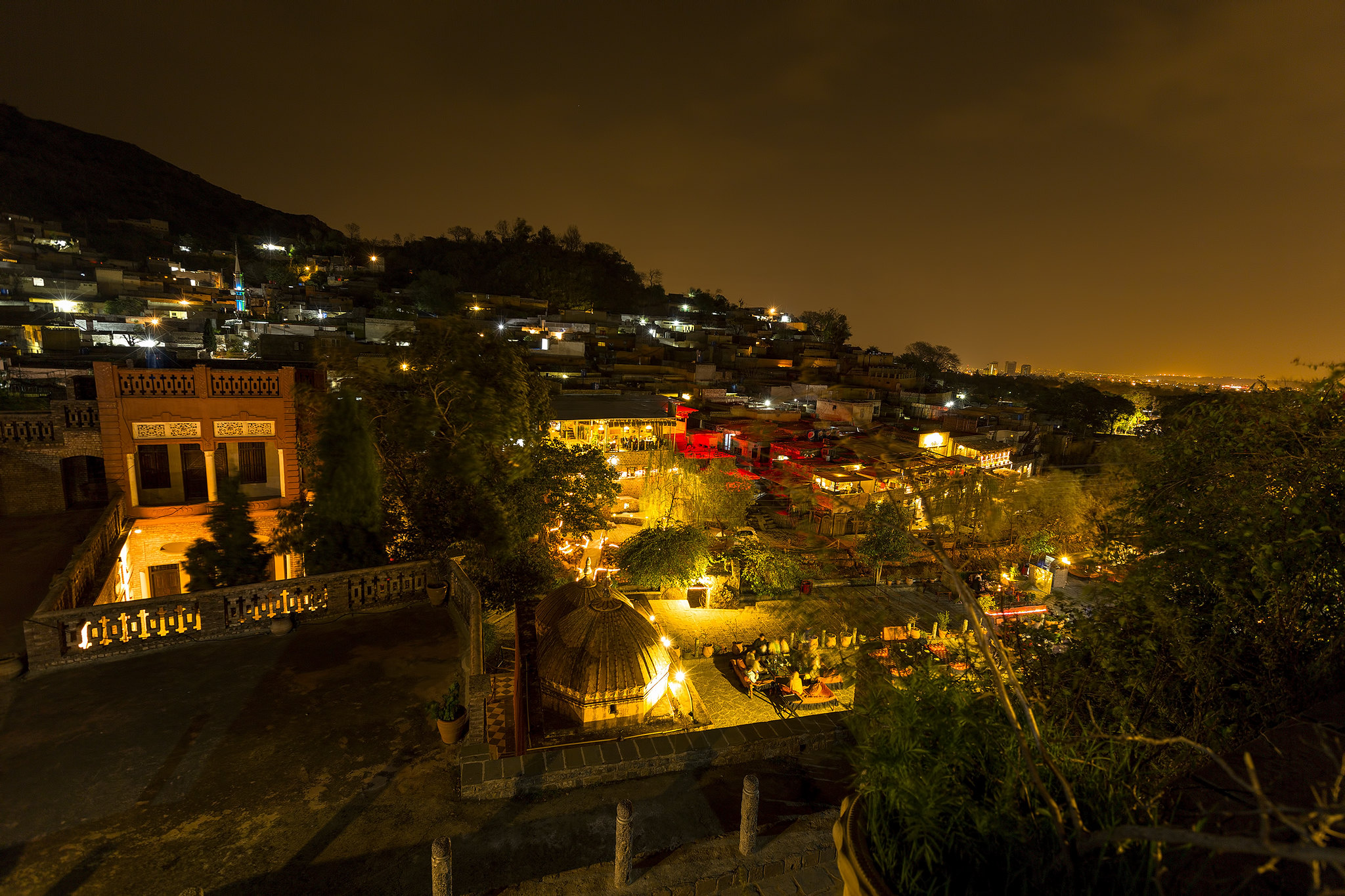 Saidpur Village at Night